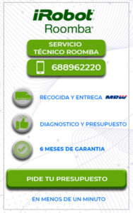 Servicio técnico Roomba en Málaga 4